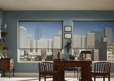 Roller Blinds in Home Office