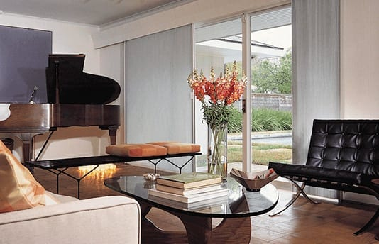 Cellular/Honeycomb Blinds by Blinds by Vertican in Living Room