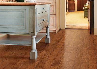 Hardwood Flooring in Kitchen