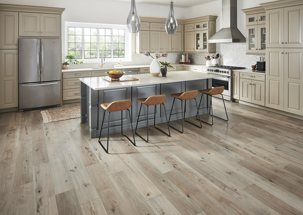 Laminate Flooring in Kitchen