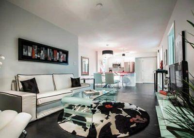 Vinyl Flooring in Apartment