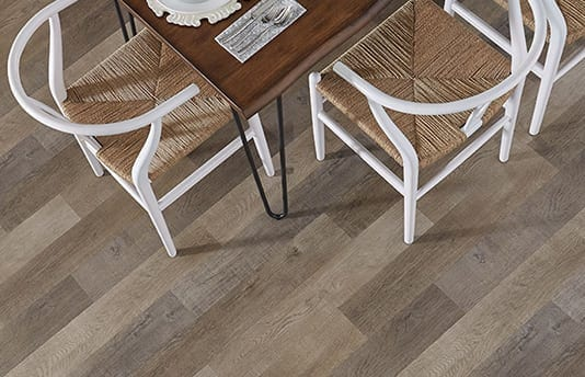 Hardwood Look to Vinyl Flooring