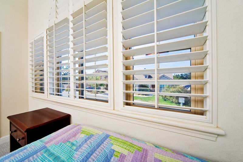 Shutter Blinds in Bedroom