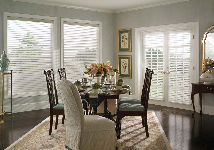 Shutter Blinds in Dining Room