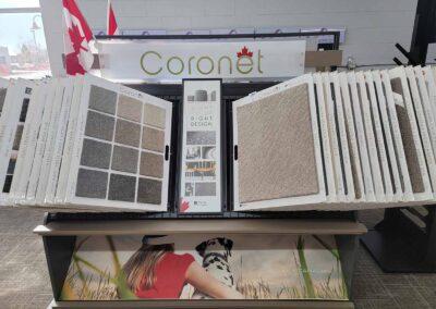 Carpet Flooring by Coronet Samples