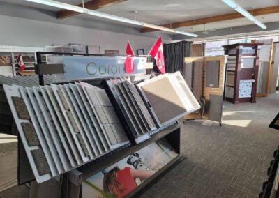 Lakeland Flooring Showroom with Carpet Flooring and Window Coverings