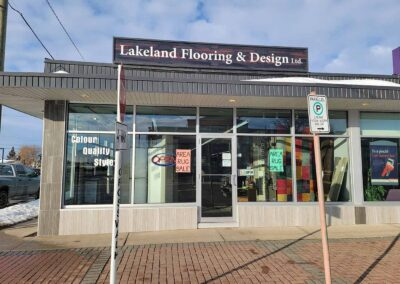 Lakeland Flooring Store Front from Main Street View