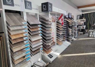 Beaulieu Laminate Flooring Sample Stands
