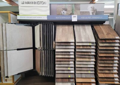 Waterproof, pet-friendly, vinyl and tile flooring by Mannington Floors